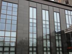 鼎琳石材厂石材产品(沙漠棕 福鼎黑 寿宁红)外墙干挂工程案例