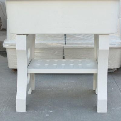 石英石洗衣池供应米白色 70/80/90/100/120规格