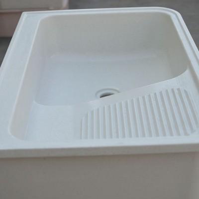 洗衣池单盆单孔中间不带挡水板