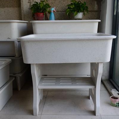 水头石英石洗衣池 石英石家具