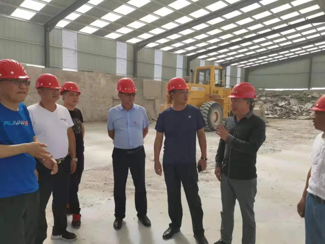 内蒙古吉兰泰镇对石材园区开展实地检查