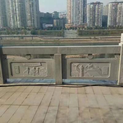 城市河道青石围栏 青石河栏杆护栏
