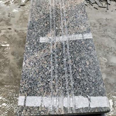 梨花红花岗岩楼梯板台阶石地铺石专供