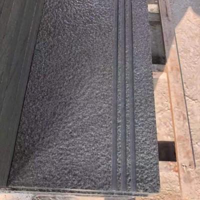 达州青石荔枝面地铺台阶石板(带拉槽防滑)