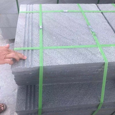 四川达州青石荔枝面板材 拉三条防滑槽