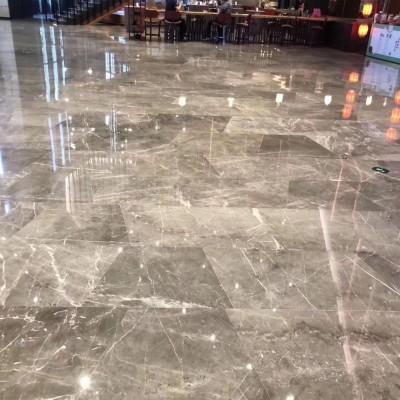 古斯顿灰地面应用 灰色大理石地板