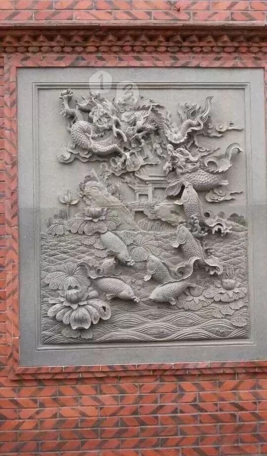 青石浮雕--用青石雕刻而成的精美工艺品
