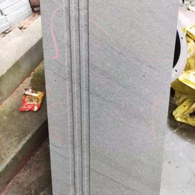 青石楼梯板 台阶石踏步 拉槽防滑