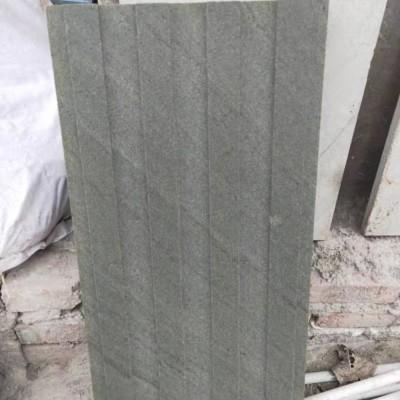 达州青石成品 凹凸槽 墙面应用