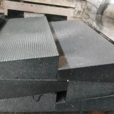 林州青防滑台阶石 拉丝面防滑 梯形截面