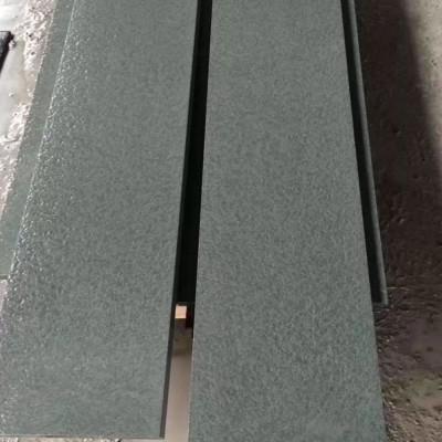 万源青石水洗荔枝面效果 条板 台阶石地铺 楼梯板