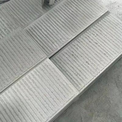青石台阶 梯步板 地铺防滑拉槽表面