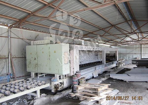 山西兴县红花岗岩工厂加工过程