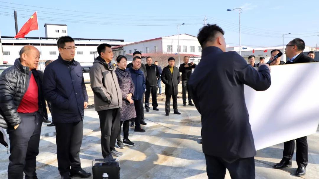 吉林蛟河市召开中国北部(蛟河)石材循环经济产业园项目现场推进会