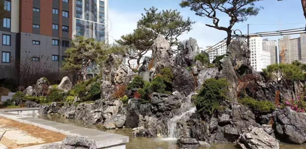 广东英德石园林造景常用石材欣赏!