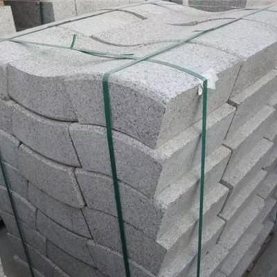 五莲红路沿石厂家供应 批发路沿石