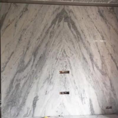 白金沙大理石背景墙对拼
