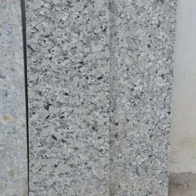 江西巴拉白石材楼梯样品