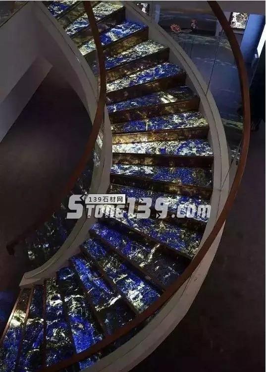 蓝石装饰-天然大理石带给您星辰大海的家