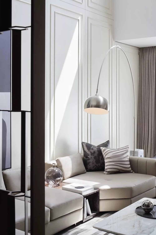 现代摩登大理石别墅 | 与时尚、经典、华丽、摩登共鸣的对话