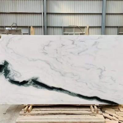 熊猫白大理石大板