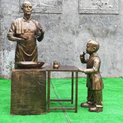 陕西西安民俗雕塑厂承接民俗文化雕塑  农耕文化雕塑 卡通雕塑