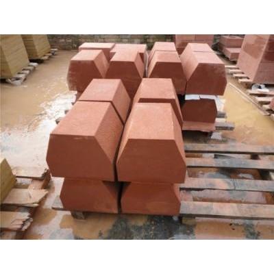 红砂岩荒料生产、江西红砂岩厂家直销、江西映山红石材