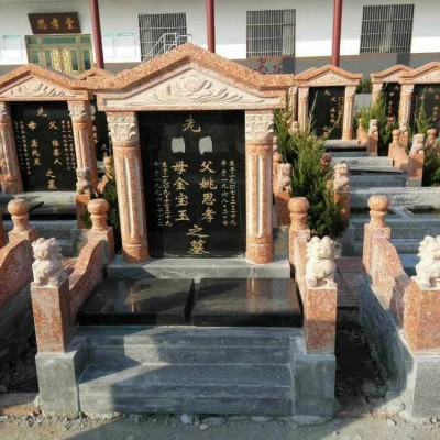 帝王红光泽红富贵红代代红墓碑石材展示