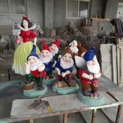 西安雕塑厂供应卡通雕塑 游戏人物雕塑 戏曲人物雕塑