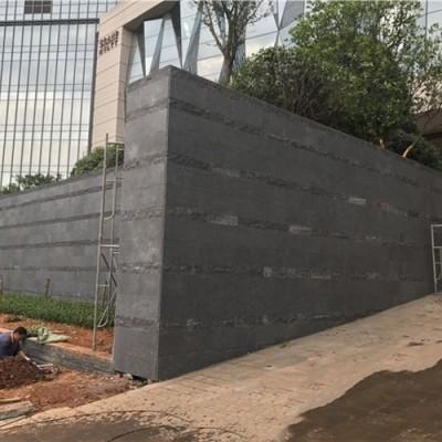 广西芝麻黑粗面应用 外墙 围墙装饰