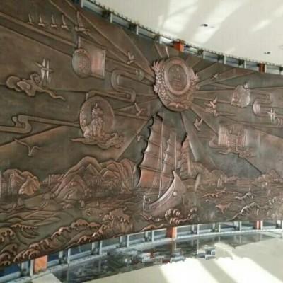 厂家定做砂岩人物浮雕 大型石雕景观墙砂岩雕塑加工 景区雕塑