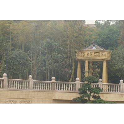 陕西西安栏杆厂供应围墙石材栏杆 阳台 河道汉白玉栏杆