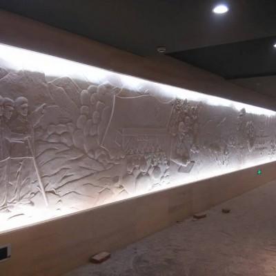 红色文化浮雕革命文化墙建党建军建国浮雕
