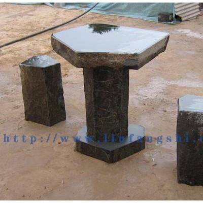 六方石-玄武岩-蒙古黑-石桌石椅