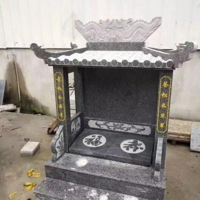 浙江芝麻黑花岗岩做墓碑
