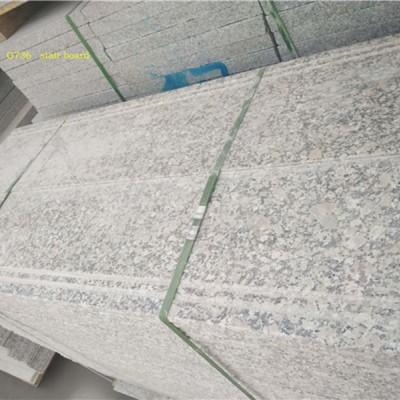 梨花红台阶石地铺 花岗岩楼梯板