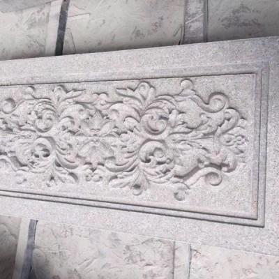 福建虾红石材雕花外墙