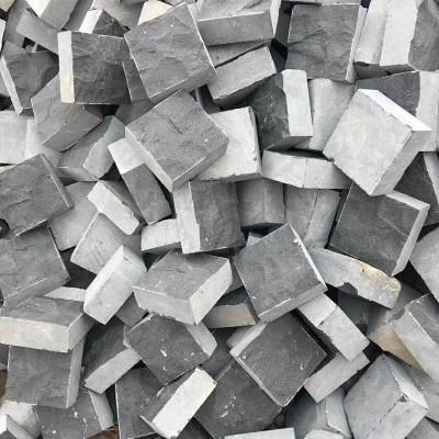 蒙古黑自然面小方块
