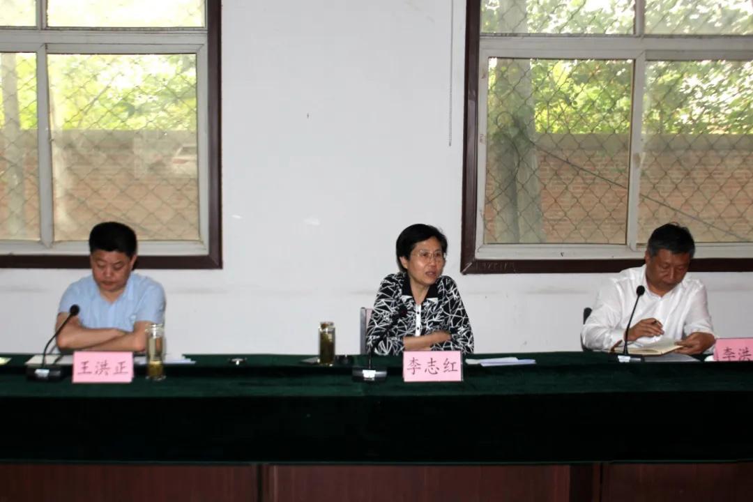汶上县白石镇(山东锈石产地)召开石材矿山综合整治工作专题会议