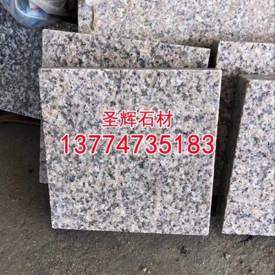 虾红花岗岩工程板地铺石干挂板g681石材工程石材