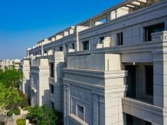 2020完工的石材别墅群案例(花岗岩别墅外墙应用)