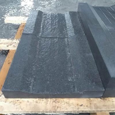 雅蒙黑成品凹型水槽石铺路