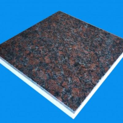 优质青岛英国棕超薄石材保温装饰一体板厂家