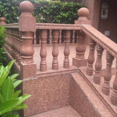 映山红别墅外装 栏杆护栏 楼梯