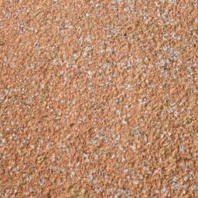 映山红石材荔枝面 红色带白点