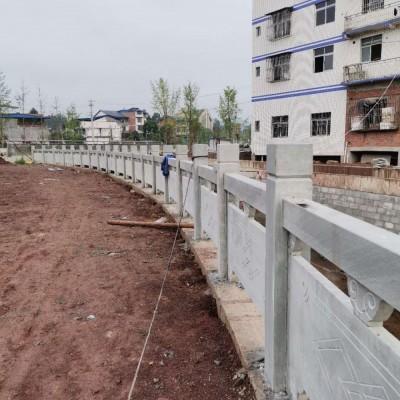 青石护栏板 河栏杆护栏石
