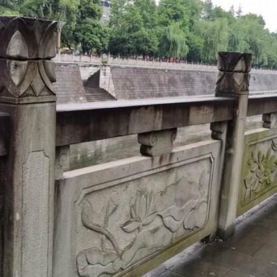 城市河道栏杆护栏 雕花
