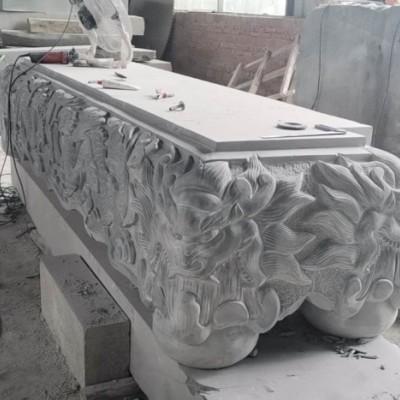 青石雕刻 神兽浮雕立体