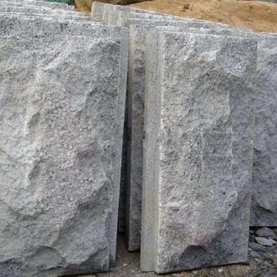 章丘黑墙面装饰成品 蘑菇石