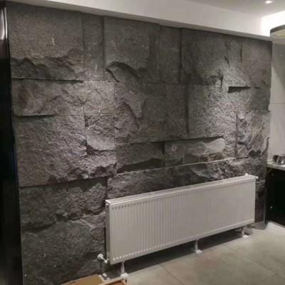 老矿芝麻黑家用背景墙装饰(自然面)